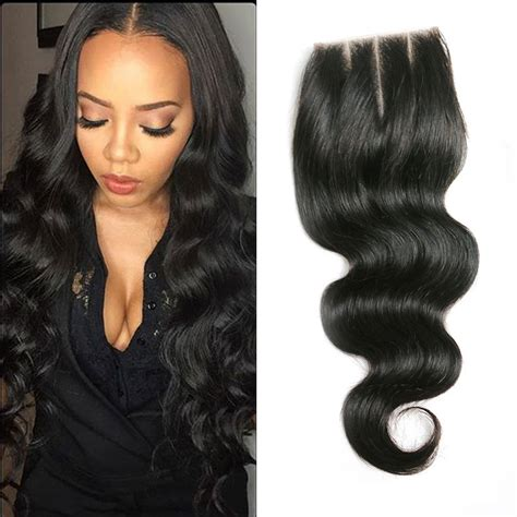 pictures of haistyles with 3 part silk closure brazilian virgin hair silk base closure sew in weave 8a