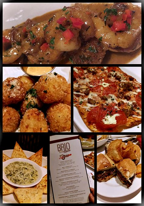 brio appetizers authentic tuscan inspired food at brio