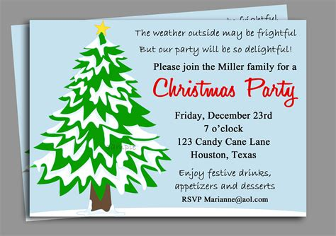 fun christmas party invitation wording ideas wedding