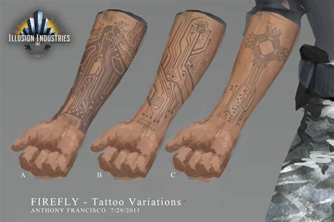 firefly tattoo 01 layout by ubermonster on deviantart