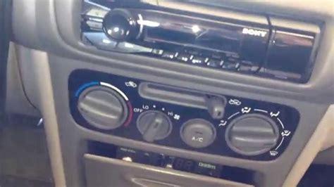 sony dsx aui car stereo installation