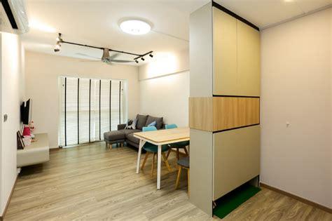 Dawson Interior Design by Dawson Skyville Scandinavian Living Room Singapore