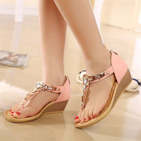 Sepatu Cewek Salvatore Ferragamo by 2016 New S Sandals Wedges Shoes Summer