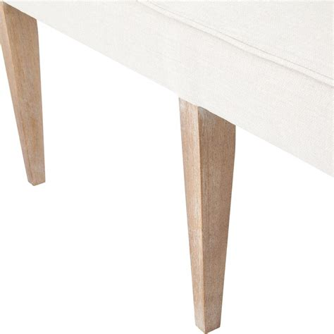 long banquette andrea french country tufted sand long dining bench banquette kathy kuo home