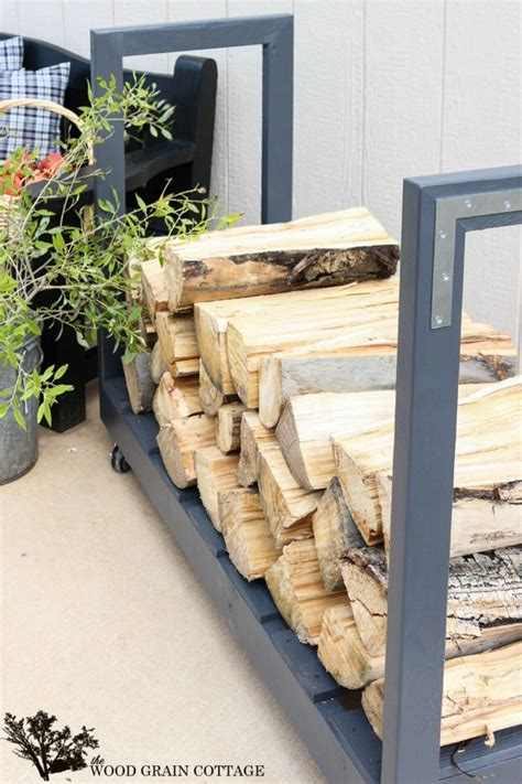 Outdoor Wood Rack by 9 Simple Diy Ideas For Outdoor Firewood Holder 4 Diy Crafts Ideas Magazine