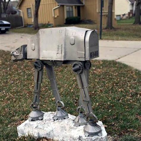 Wars R2 D2 Starring In The Cutest Mailbox by Custom Wars At At Mailbox Deserves The Title Of Best