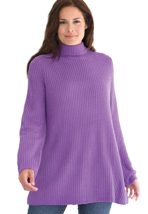 swing sweaters woman within plus size sweater pullover swing style in