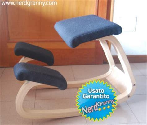 stokke sgabello sedia stokke varier ergonomica usata