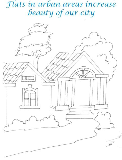 the sweethome sheets sweet home coloring printable page for kids 12