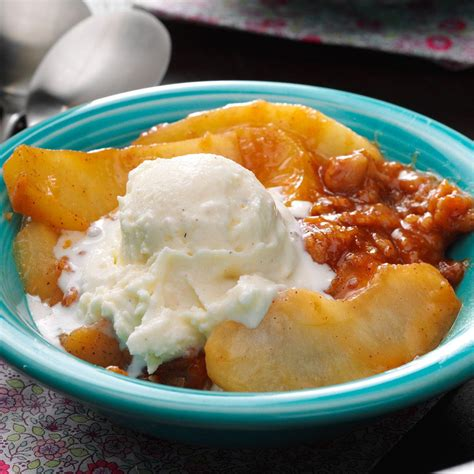 butterscotch apple crisp recipe taste of home