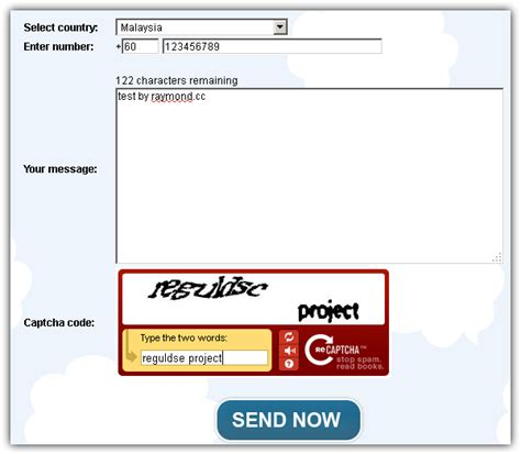 free sms on mobile from send 100 free instant sms worldwide raymond cc