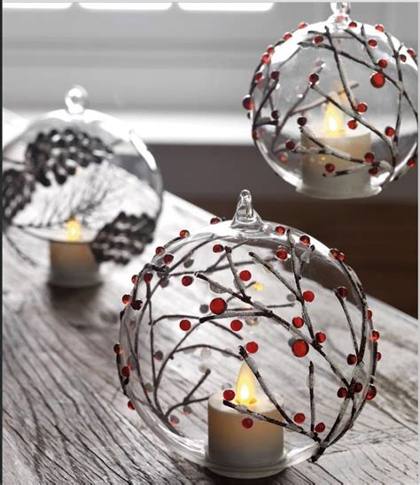 3 5 inch berry branch hand blown ornament simulated