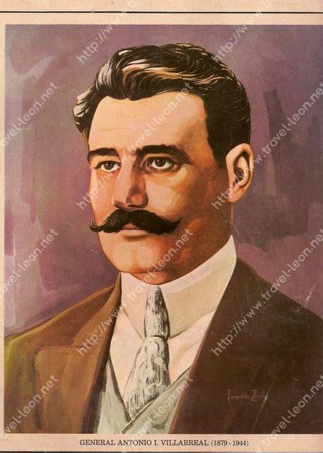 imagenes de personajes de la revolucion mexicana con nombres general antonio l villarreal
