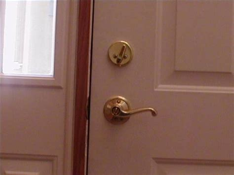 How To Tighten A Kwikset Door Knob by How To Tighten A Doorknob Ehow