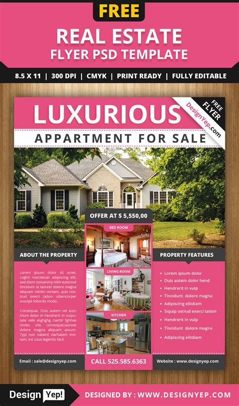 Free Estate Sale Flyer Template
