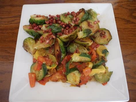 Ina Garten Brussel Sprouts Pancetta by I M Learning How To Cook Nadine Jolie Courtney