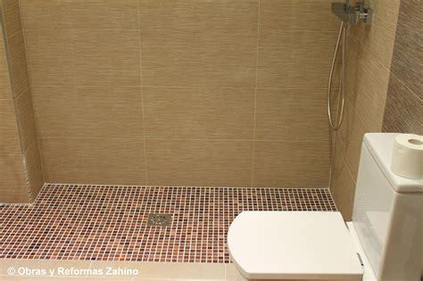 ducha de gresite plato de ducha de obra en gresite servicios de obras y
