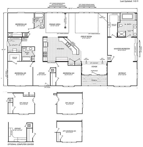 used modular homes oregon oregon modular homes floor plans 30 best images about mobile home floor plans on pinterest