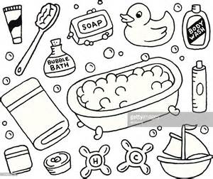 doodle bar drawing bath doodles vector getty images