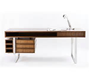 Modern Style Desk If It S Hip It S Here Archives The Walnut Maple Wood Boxeo Desk By Cliff Ltd