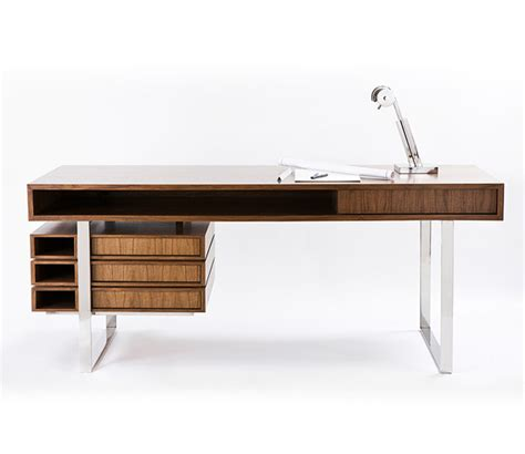 Modern Wood Office Desk If It S Hip It S Here Archives The Walnut Maple Wood Boxeo Desk By Cliff Ltd