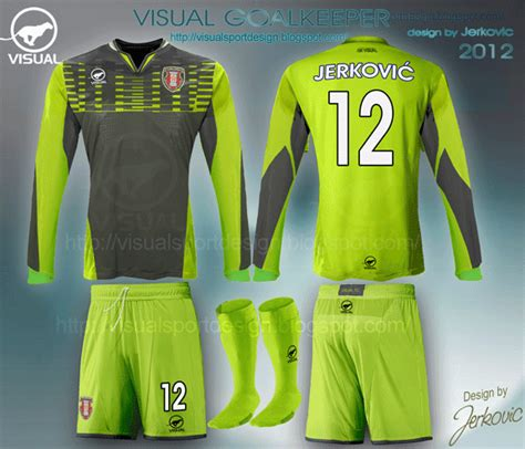 goalkeeper jersey design your own visual football fantasy kit design visual goalkeeper