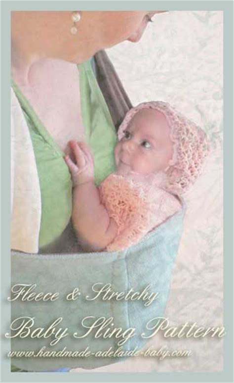 Geos My Baby Pouch Cross baby sling pattern