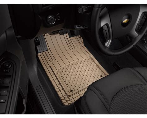 weathertech avm semi universal trim to fit mats tan 4 piece set