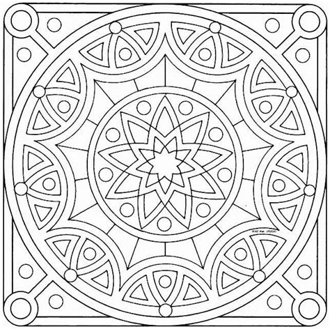 islamic design coloring pages 100 mandalas abstractos y figurativos para colorear