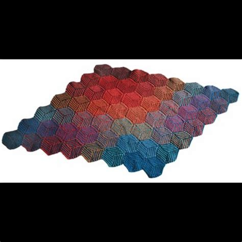 wool pattern webs valley yarns 255 illusion cube blanket free at webs