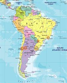 map of south america de janeiro map argentina and brazil