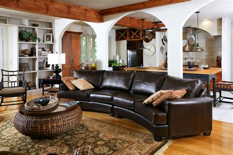 ethan allen leather furniture  charming  comfortable
