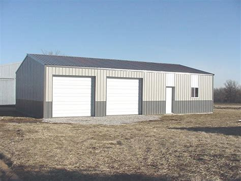 Steel Shed House by Washburn All Steel Metal Sheds Barns Houses Buildings