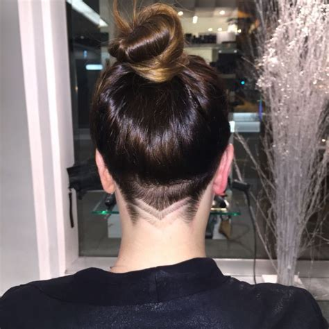 simple nape tattoo 17 best images about sexy undercuts on pinterest hair