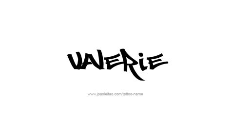 valerie tattoo designs valerie name design newhairstylesformen2014