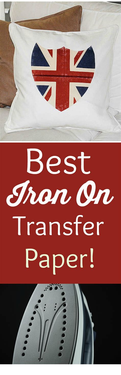 printable iron on paper best iron on transfer paper union jack shield pillow