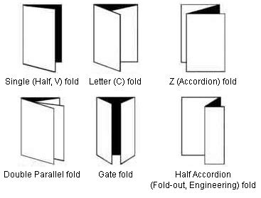 Types Of Paper Folds - paper folders abc office