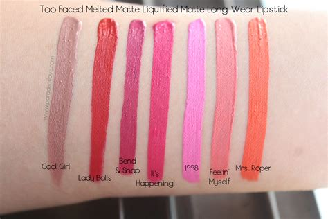 Faced Melted Matte Lip Lipstick mad about matte with faced melted matte liquified