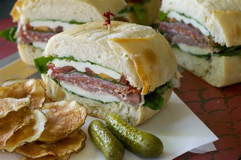 pressed italian picnic sandwich what the forks for dinner