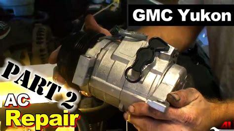 2003 gmc yukon ac compressor and accumulator part 2 accumulator