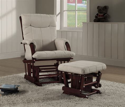 shermag alexis glider rocker and ottoman combo shermag alexis glider rocker and ottoman combo