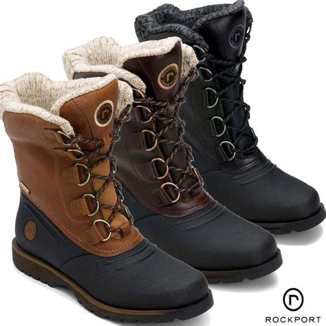 boots for winter mens rockport lodge trailbreaker winter snow boot winter