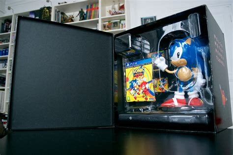 Sonic Mania Collector Edition Ps4 unboxing sonic mania edition collector arrivage