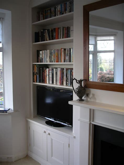 Bookcase Fireplace By Peter Henderson Furniture Brighton Uk