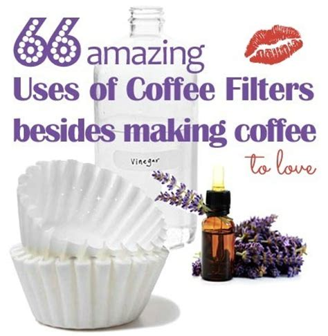 coffee filter uses 66 alternative coffee filter uses