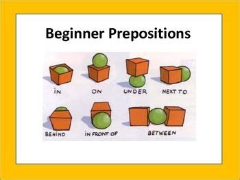 esl adults beginners preposition worksheets