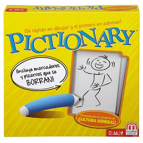 Asmodee Pictionnary by Pictionary Castellano
