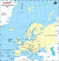 latitude map usa and europe europe latitude and longitude map lat maps of