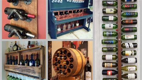 Creative Ideas For Wine Racks by Diy Wine Rack Ideas Creative Wine Shelf Diy Home Decor