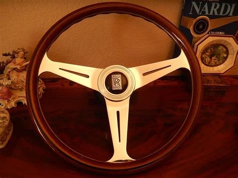 rolls royce steering wheel rolls royce wood steering wheel silver wraith silver